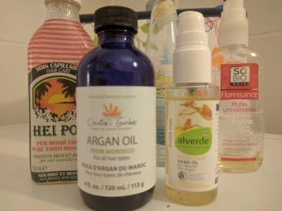 Lockenpflege mit Haaröl Test