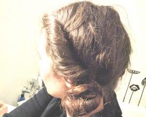 Haare über Nacht eindrehen