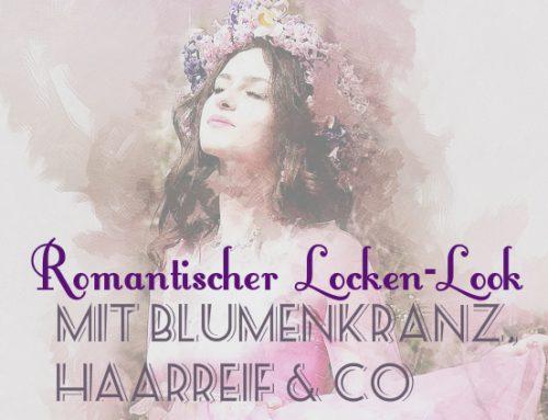 Romantischer Locken-Look: Die schönsten Blumenkränze und Haarbänder mit Blumen