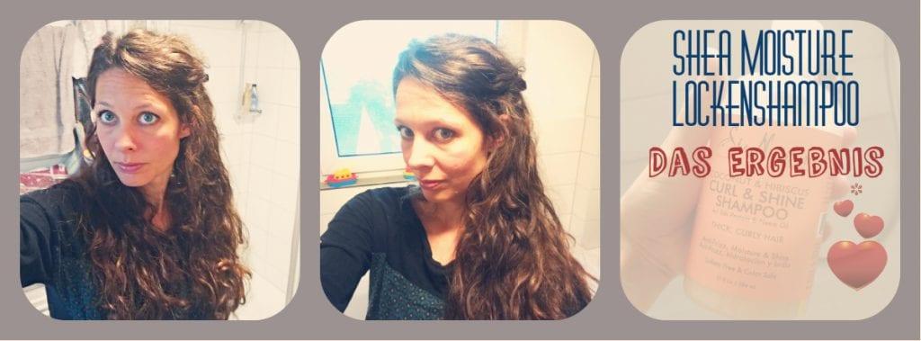 Shea Moisture Curl&Shine Shampoo: Das Testergebnis