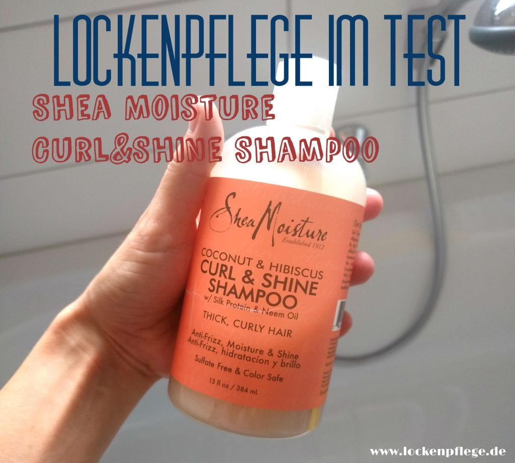 shampoo f r trockene locken im test shea moisture curl shine. Black Bedroom Furniture Sets. Home Design Ideas