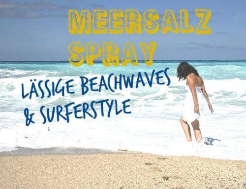 Für Urlaubsfeeling: Lässige Locken und Wellen mit Meersalzspray