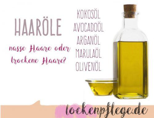 Lockenpflege und Locken definieren mit Haaröl – Kokosöl, Arganöl und Co