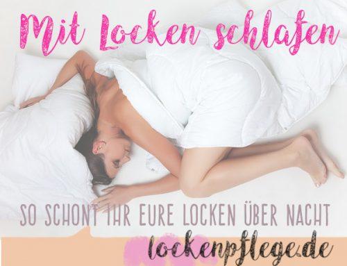 Mit Locken schlafen – So bleiben die Locken über Nacht garantiert schön