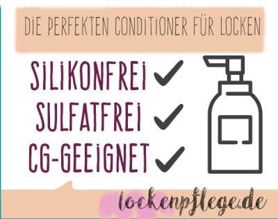 Conditioner ohne Silikone und Sulfate