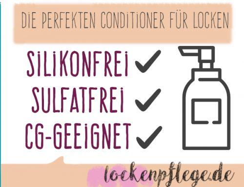 Die besten Spülungen & Conditioner ohne Silikone & Sulfate (geeignet für Curly Girl Methode)